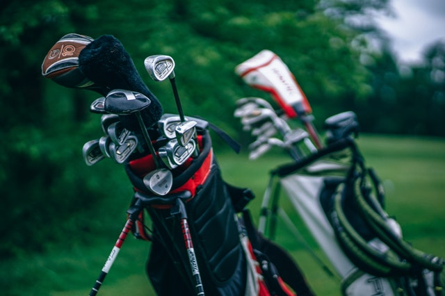 Profesjonalny, kompletny zestaw golfowy