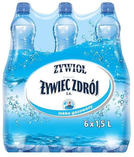 Afera z wodą mineralną Żywioł Żywiec Zdrój